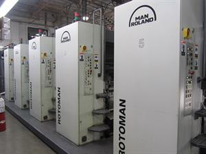 Picture of Manroland Rotoman N (5) Unit (1) Web Offset Press