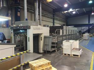 Picture of Komori Lithrone LS840+C