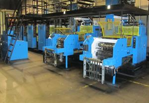 "Picture of Harris NC400 (4) Unit Coldset Web Press 21"" Cuttoff x 36"" Width"