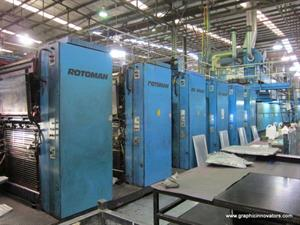 Picture of Manroland Rotoman C (8) Unit (2) Web 32 Pg. Offset Press