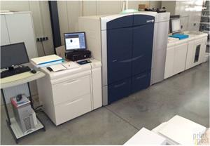 Picture of Xerox 1000 with Clear Dry Ink