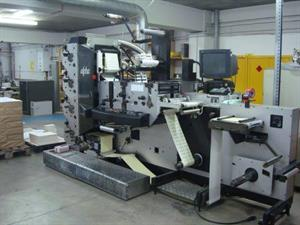 Picture of Edale ALPHA 4 COLOUR LABEL PRESS  WITH UV
