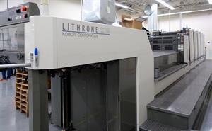 Picture of Komori LSX529+Coater