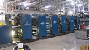 "Picture of Heidelberg M600 B24 (5) Unit (1) Web Press  22.75"" (578mm) Cutoff x 38"" (965mm) Width"