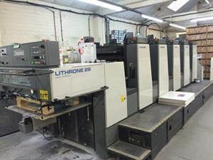 Picture of Komori Lithrone L528 EM
