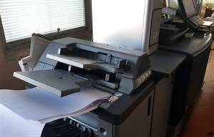 Picture of Konica Minolta c 7000 press
