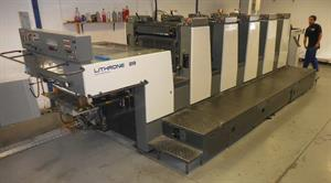 Picture of Komori Lithrone L528 ES