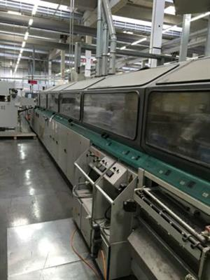 Picture of Kolbus KM 410 Publica perfect binding line
