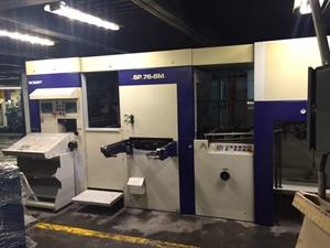 Picture of Bobst SP 76BM Hot Foil + Cutting & Creasing