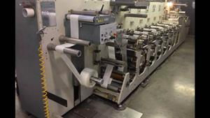 Picture of GiDue Combat 280 Flexo label press