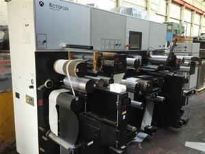 Picture of Rotoflex HTI 330 Inspection rewinder