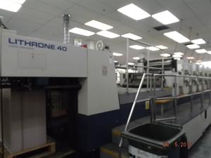 Picture of Komori Lithrone L640 EH