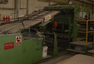 Picture of Jagenberg Universal KM - - roll / sheet laminating machine