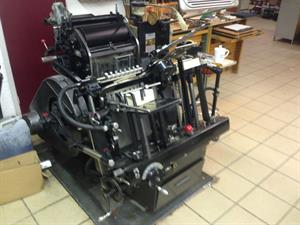 Picture of Heidelberg T-Platen