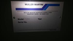 Picture of Muller Martini Muller Martini Saddle Stitcher