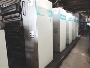 Picture of Manroland Rotary printing machine Manroland Rotoman N