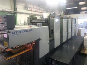 Picture of Komori Lithrone L428 EM