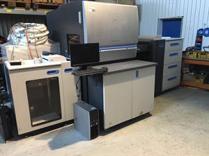 Picture of HP (Hewlett Packard) Indigo press 5500