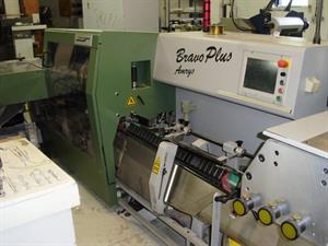 Picture of Muller Martini Bravo Plus Amrys Saddle Stitcher