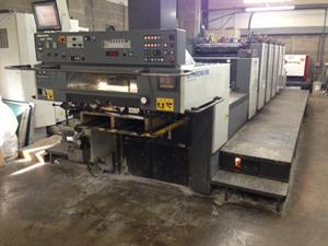 Picture of Komori Lithrone L 528 EM plus Coater