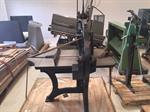 Picture of J.G.A Eickhoff Hand Guillotine Antique