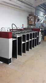 Picture of Setmaster s 8 station A3 Deep Pile Feeders