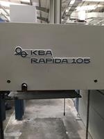 Picture of KBA RA 105 8 colour 4+ Perferting  Year 2003
