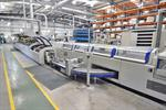 Picture of Kolbus KM 411.B perfect binding line