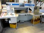 Picture of Wohlenberg 115 high speed guillotine
