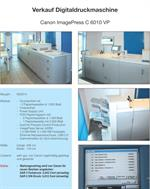 Picture of Canon IMAGEPRESS C 6010 VP