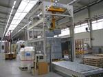 Picture of IMP.A.C. line for packaging and palletizing