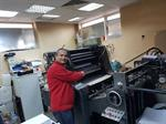 Picture of Heidelberg 1 colour, conventional,