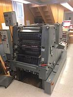 Picture of Heidelberg GTOZP 52 with Crestline damps 44 mil impressions