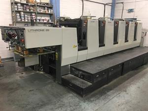 Picture of Komori Lithrone NL 528 EM