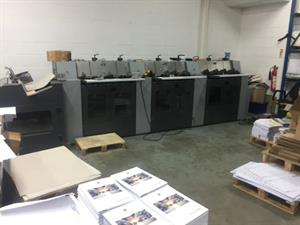 Picture of Heidelberg ST100 saddlestitcher